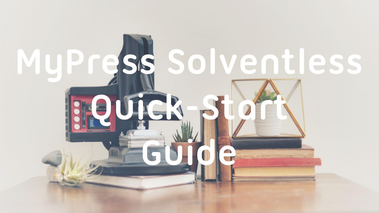 MyPress Gen 2 at home