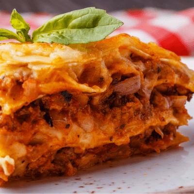 Meat Lasagna Single