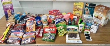 Donations to troops in Afghanistan