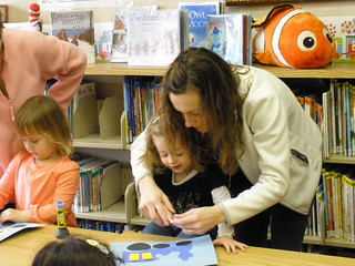 Get out with your little one and meet other parents at the library