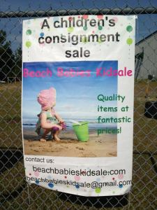 Giveaway: Beach Babies Kidsale Consignor Passes