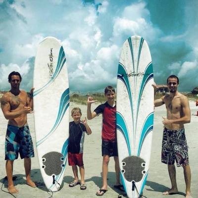 Palmetto Surf School offers free lessons to help local family