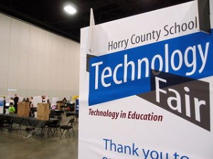 Today is the Horry County Schools Technology Fair