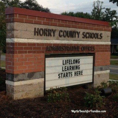 Horry County Schools 2015-2016 calendar has just been released!