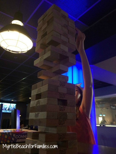 710 North Myrtle Beach, North Myrtle Beach bowling, Jenga