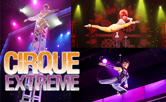 Cirque Extreme, Palace Theatre, Broadway at the Beach