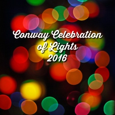 Conway Celebration of Lights coming this holiday season!