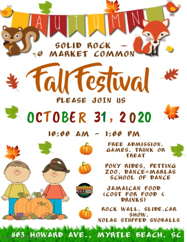Solid Rock Car Show and Fall Festival