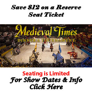 Medieval Times Ticket Discount