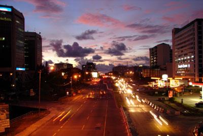 KK City Sunset