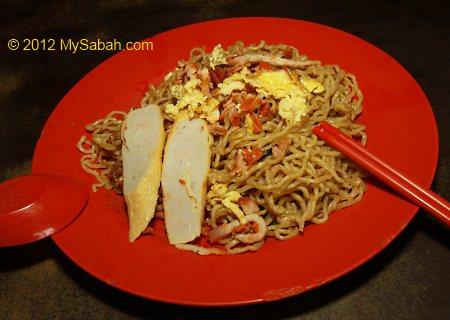 Tamparuli fried noodle