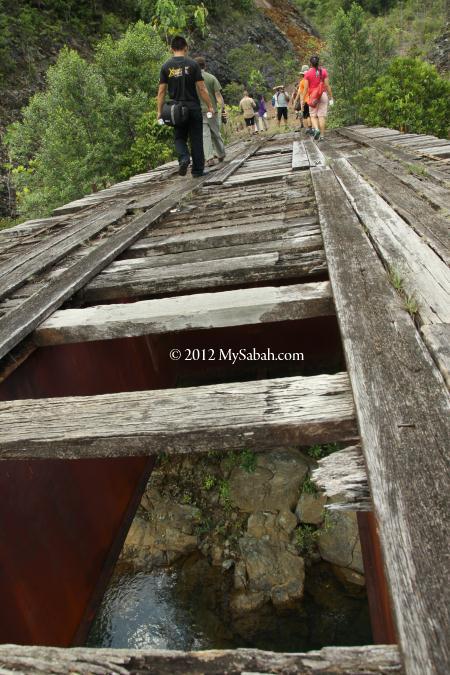 crossing the broken bridge