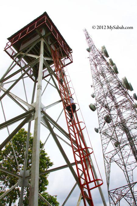 tower on Microwave Hill (Bukit Microwave)