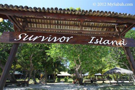 entrance to Survivor Island