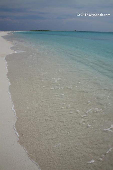 beach of Sands Spit Island