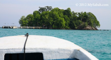 Pulau Kalampunian Damit (Snake Island)