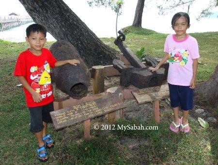World War 2 relic on Survivor Island