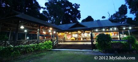 Activity Hall of Pulau Tiga Resort