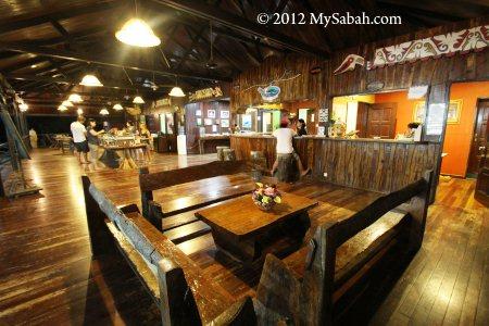 Survivor Bar of Pulau Tiga Resort