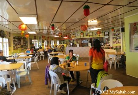 restaurant of Laban Rata