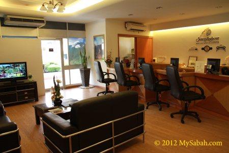 office of Sutera Sanctuary Lodges