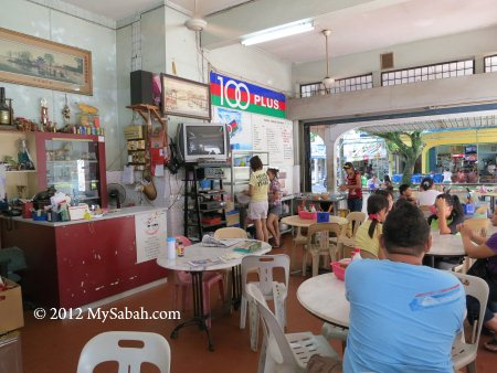 inside Kedai Kopi Loi Hin