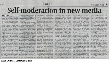 Daily Express news about B2.0 2012