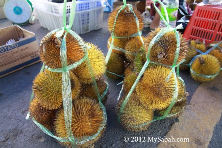 orange durian