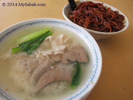 Pork noodle of Sinsuran Sang Nyuk Mee