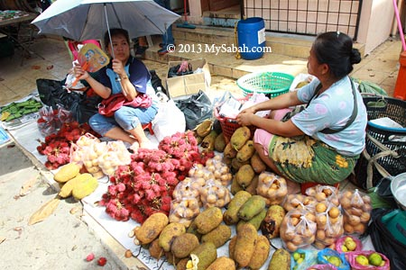 tropical fruits for sale