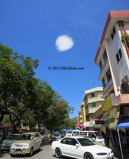 round cloud in Sinsuran