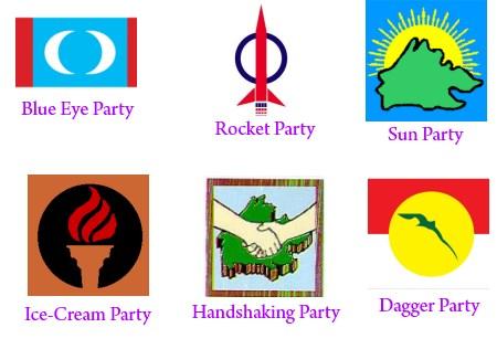 parties nicknames