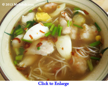 close-up of Soto Seafood