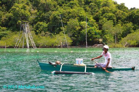 fisherman of Darvel Bay