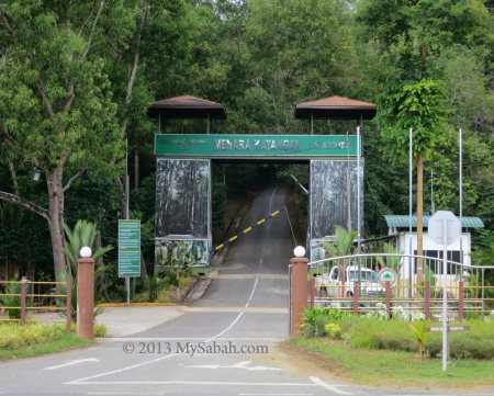 entrance at Silam junction