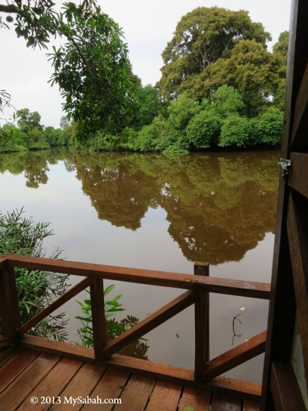 balcony of Firefly Eco Camp