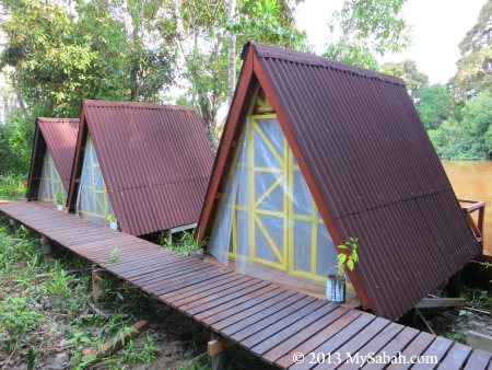 riverside camp of Firefly Eco Camp