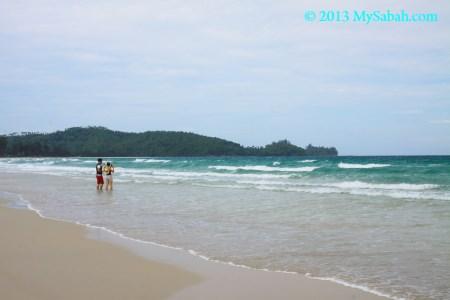 Pantai Kalampunian at the Tip of Borneo