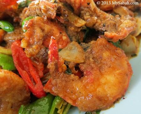 Curry Tiger Prawn