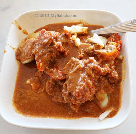 Chicken Rojak