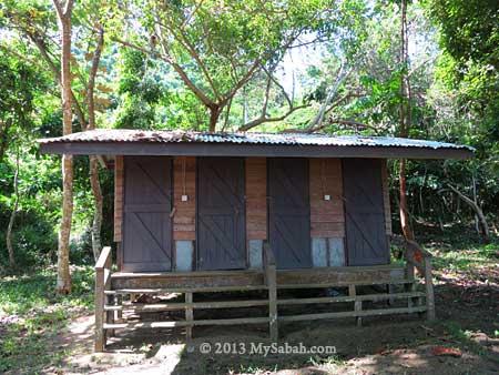 toilet of Tumunong Hallu