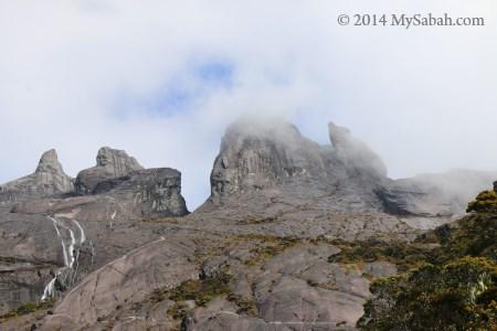 peaks of Mt. Kinabalu