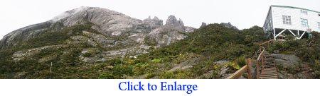 Pendant Hut on Mt. Kinabalu