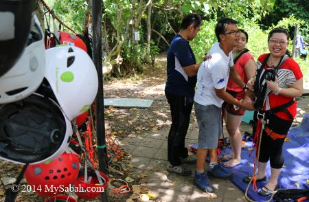 gear up for flying fox