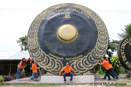 biggest gong in Malaysia