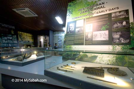 exhibition on Sabah hisotry