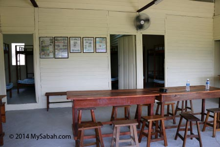 living room of Tenom farmstay