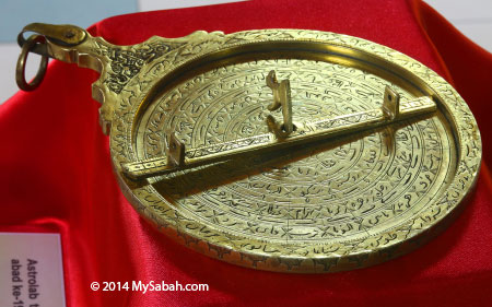 a 19th century brass astrolabe from Persia