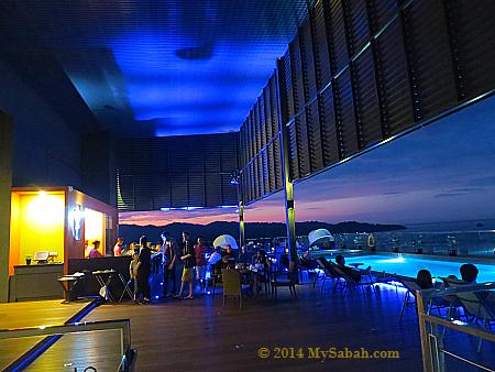 Sky Blu Bar of Grandis Hotels & Resorts