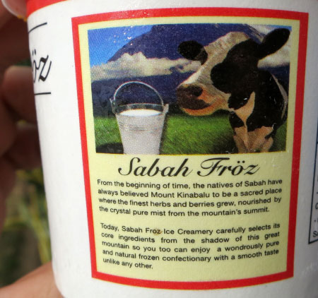product description of Sabah Froz ice cream